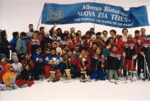 Oclini 1986: premiazione gara sociale.